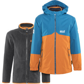 Jack Wolfskin B Iceland 3in1 Jacket Kinder desert orange